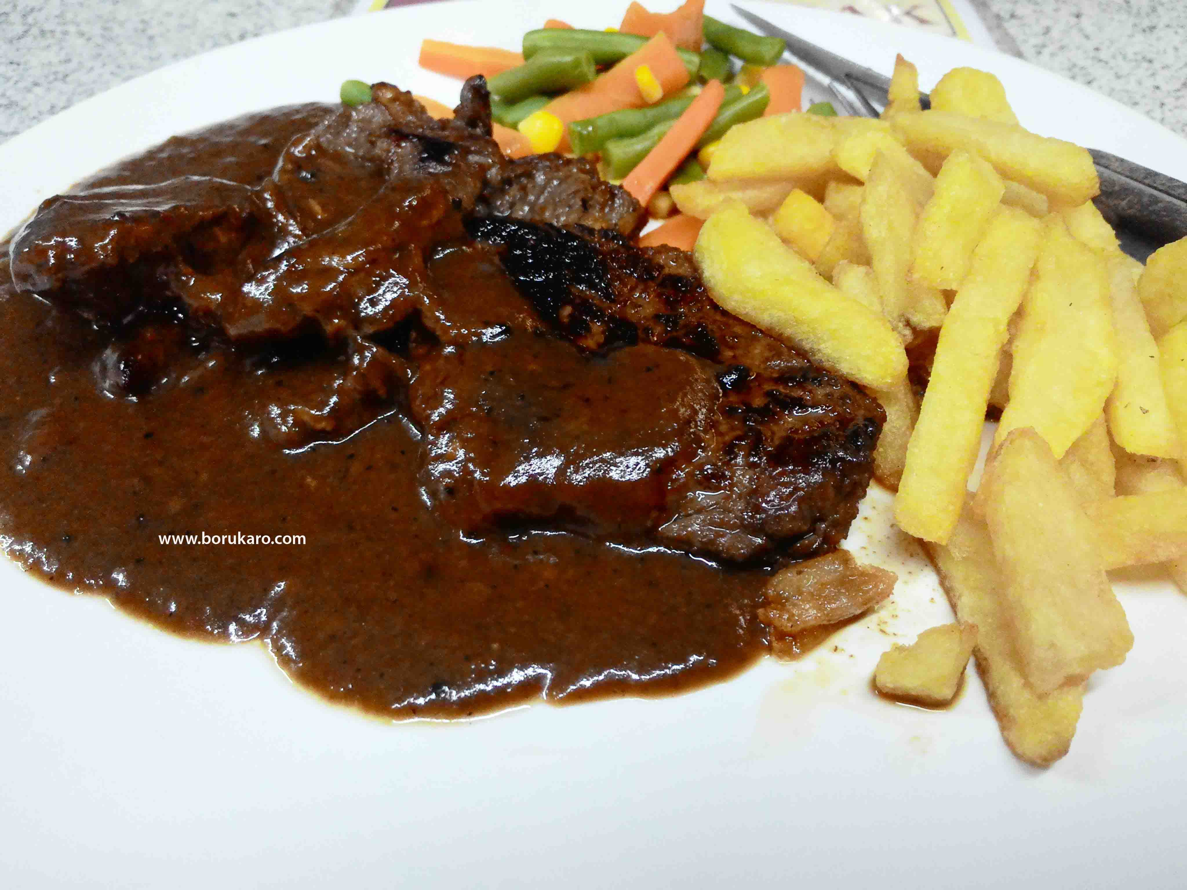 Java Steak, Steak Halal Enak dan Murah di Pasarbaru Jakarta