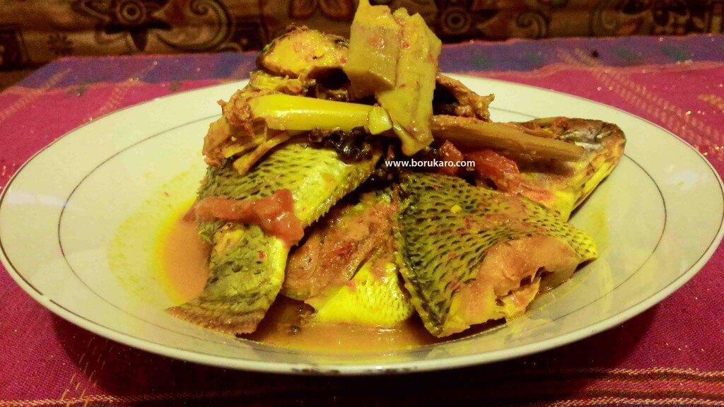 Ikan Mujahir Arsik