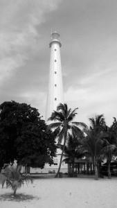 Mercusuar Pulau Lengkuas dari Dekat