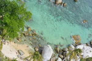 Pemandangan Pulau dari Mercusuar