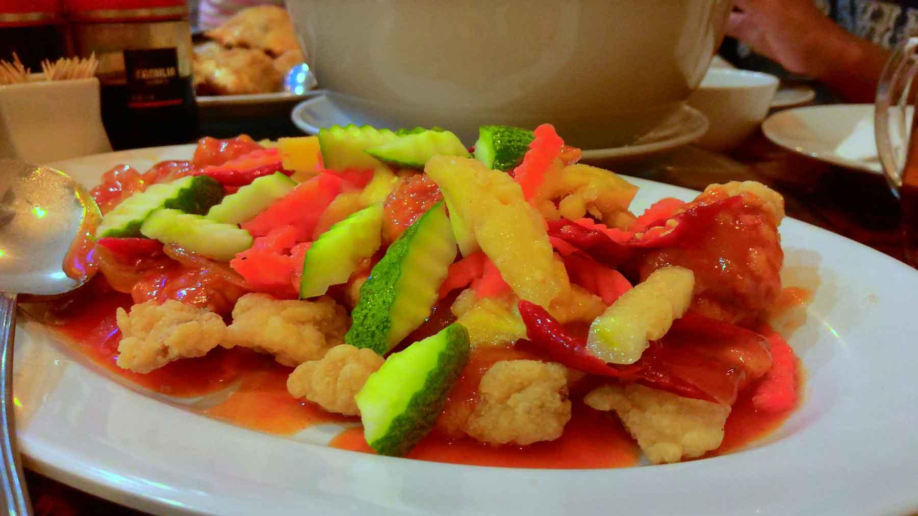 Sayur Segar Ikan Goreng Crispy