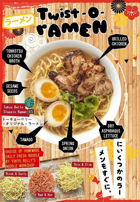Poster Tokyo Belly Clasic Ramen