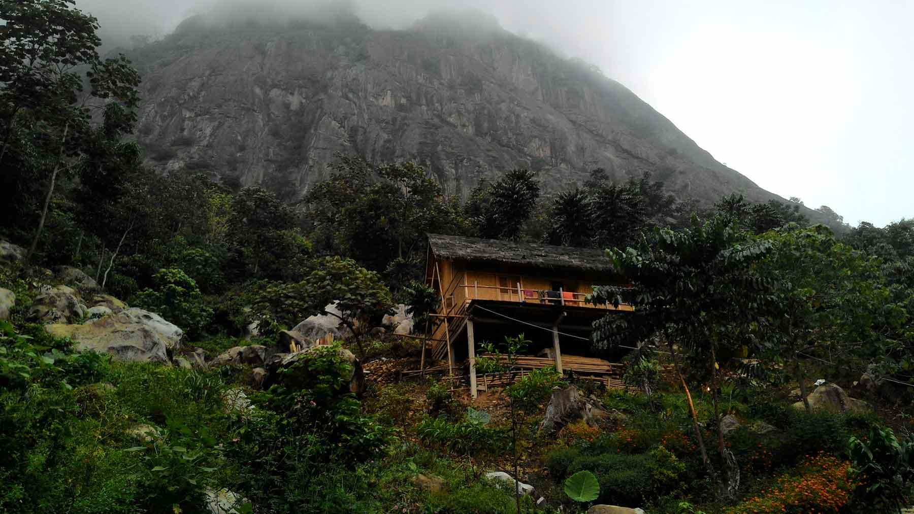Penampakan Badega Gunung Parang