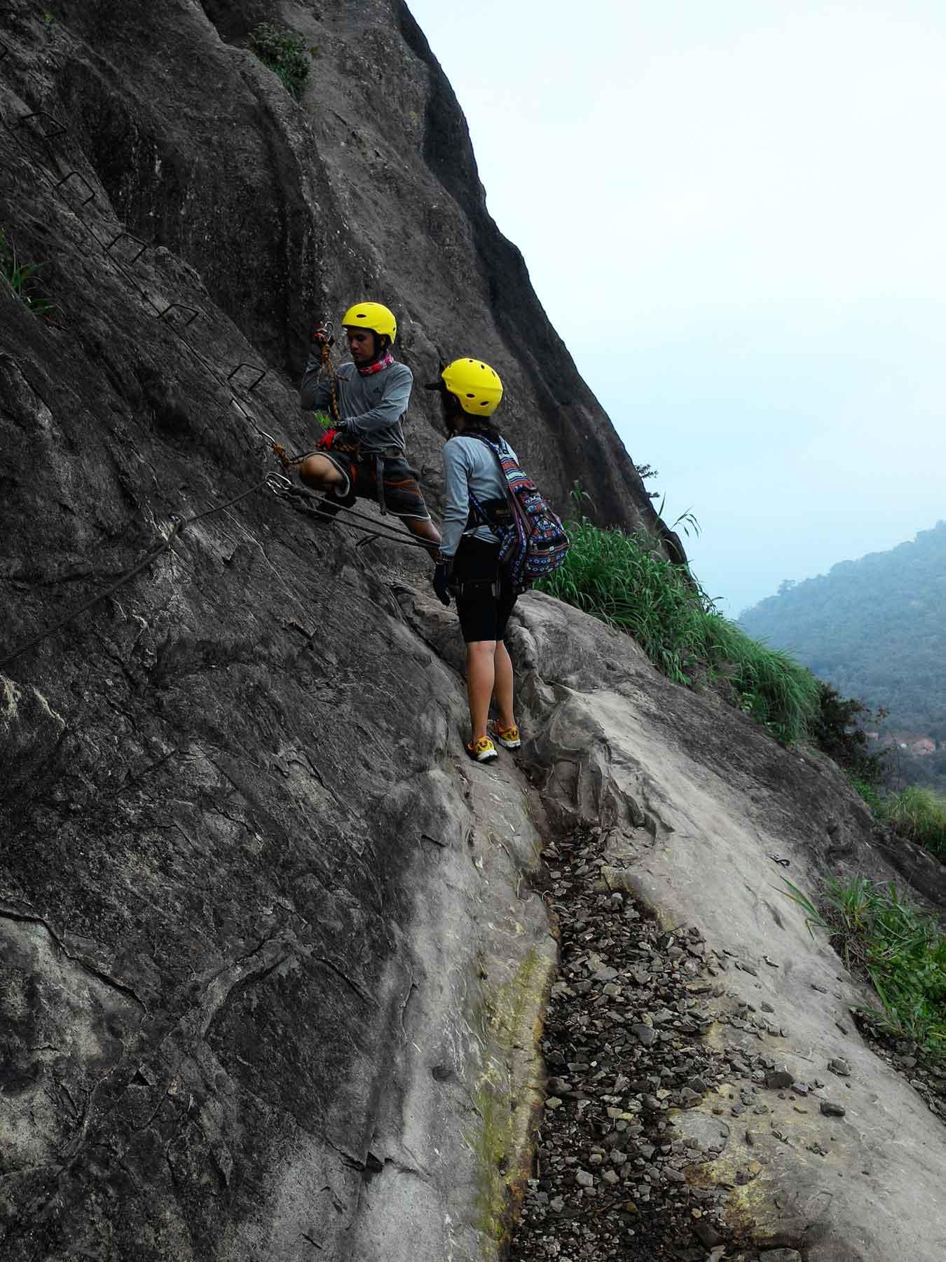 Pendakian via Ferrata