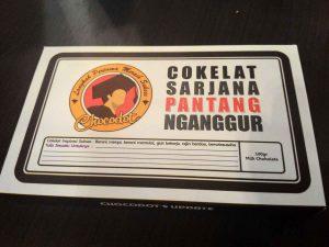 Cokelat Sarjana Pantang Nganggur