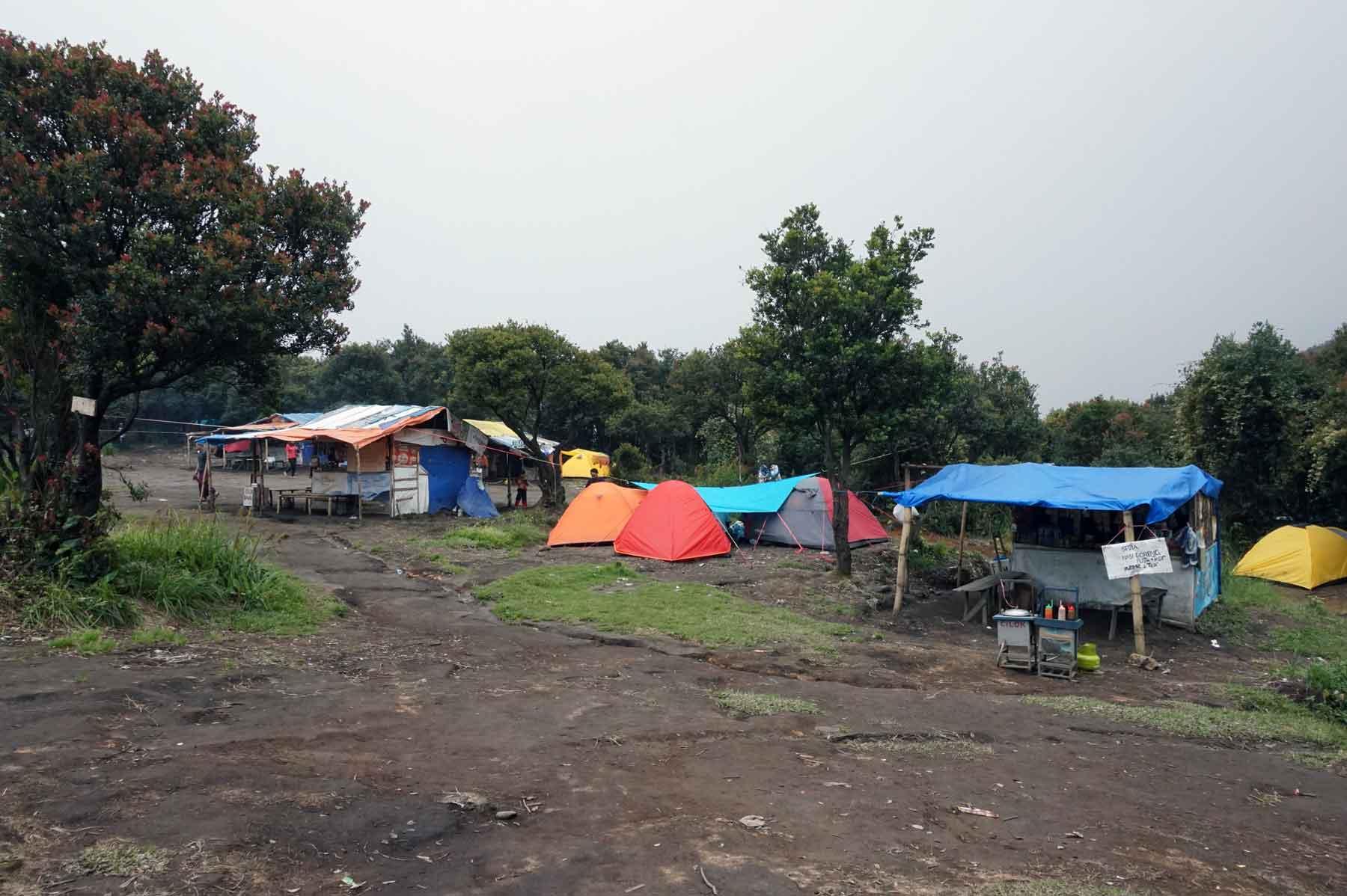Pondok di Gunung Papandayan