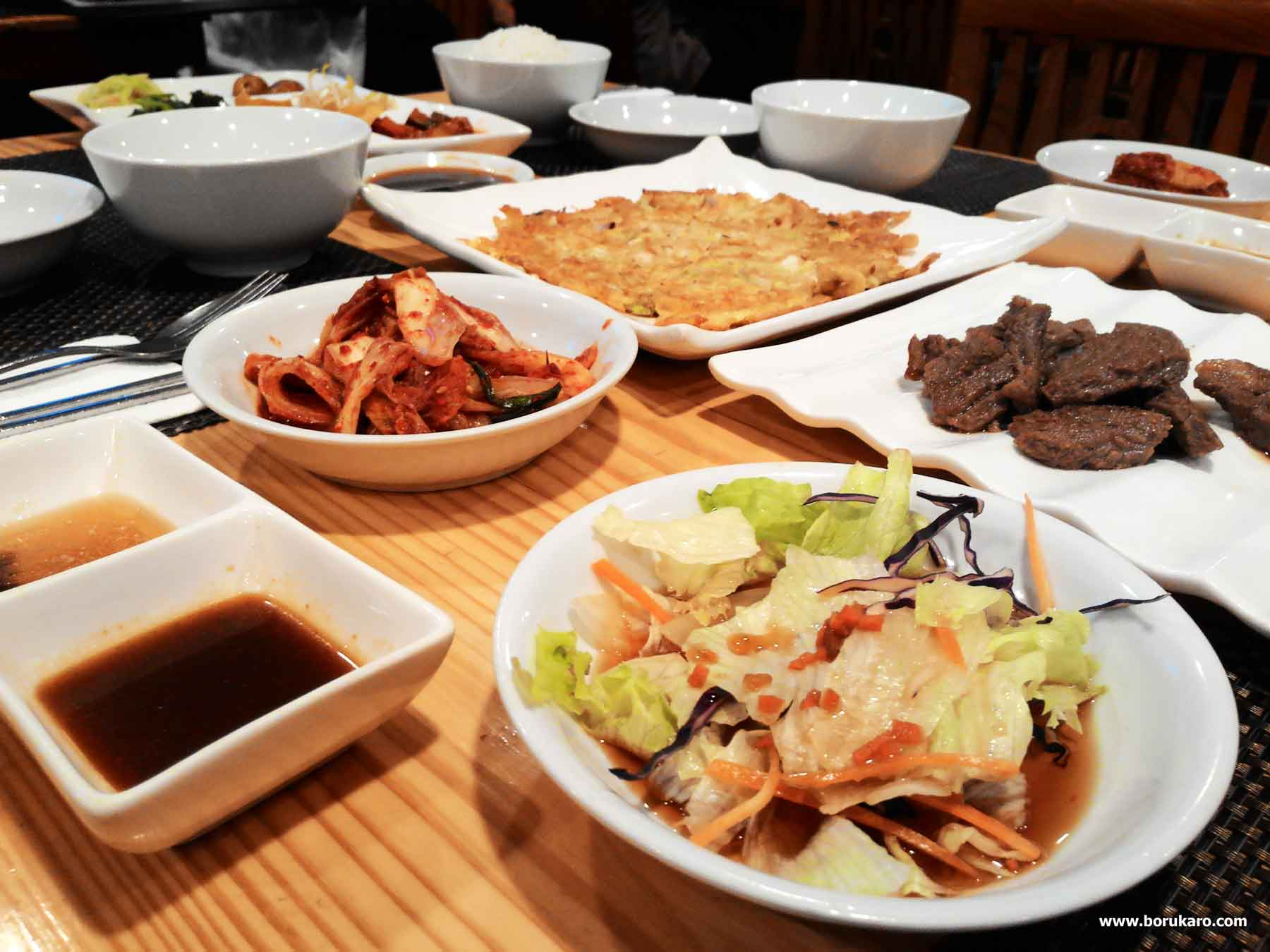 Menikmati Sensasi Makanan Korea di Samwon House Setiabudi