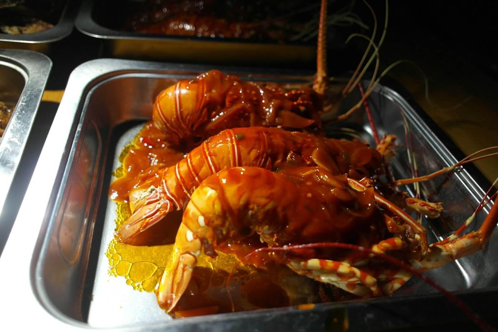 Lobster Makan Malam Hari Pertama Galeri Foto Borukaro Story