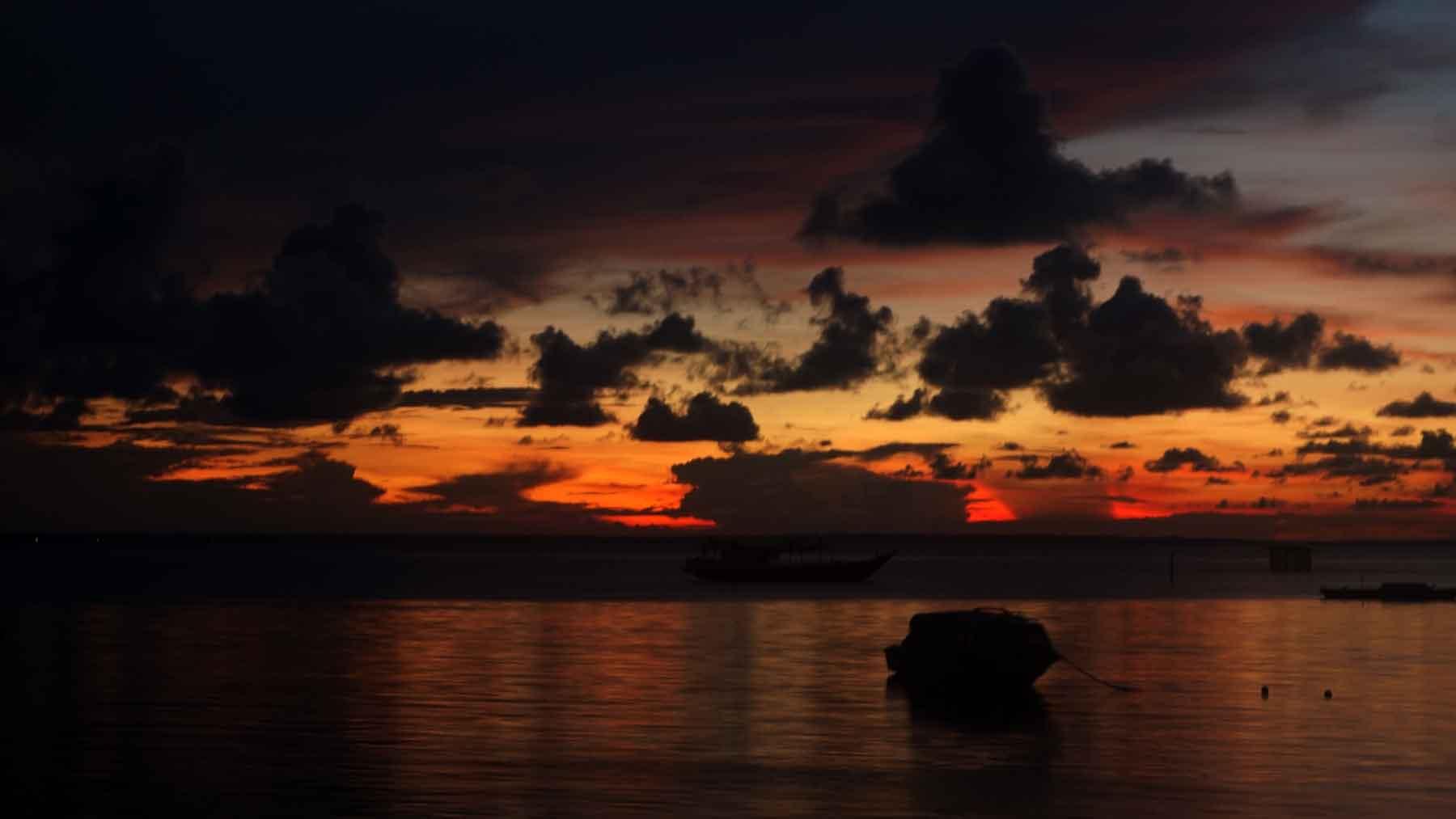 Sunset Pulau Derawan