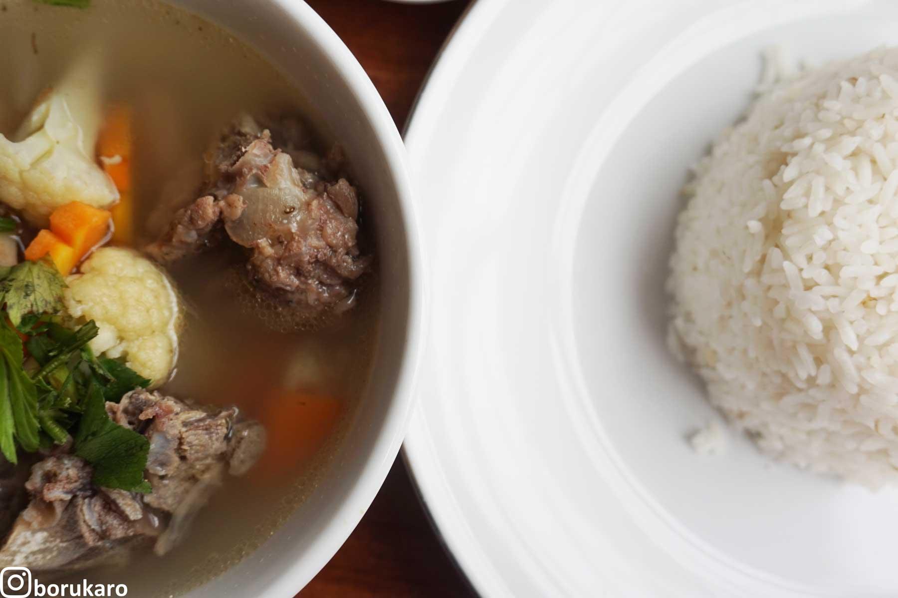Paket Sup Iga + Nasi
