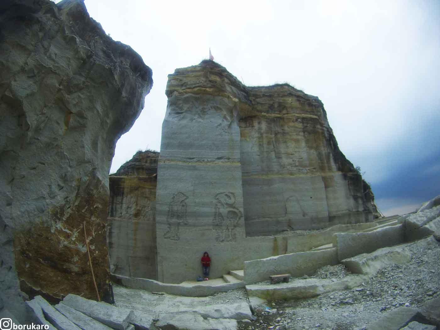 Foto Ala Romawi di Tebing Breksi Jogja