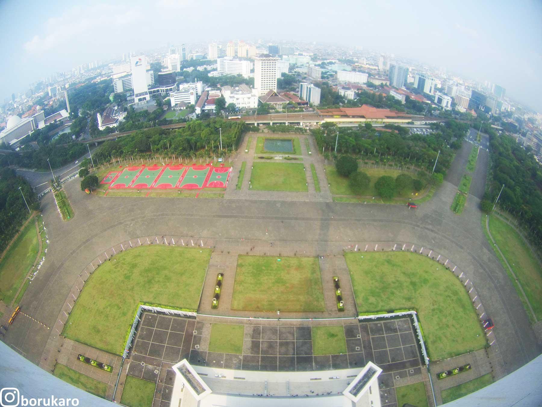 View dari Puncak Monas