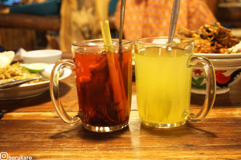 Jeruk Panas & Wedang Uwuh