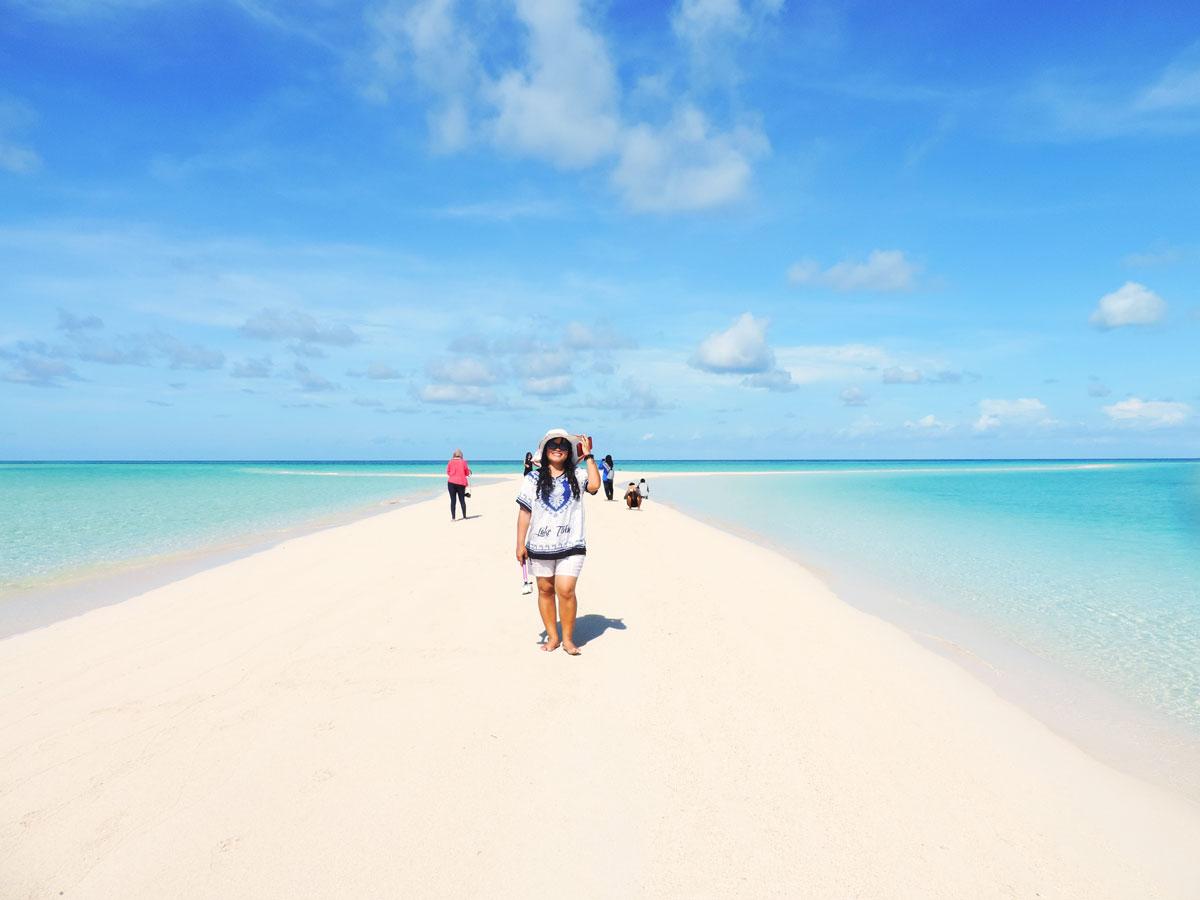 Indahnya Pulau Gusung Sanggalau Derawan