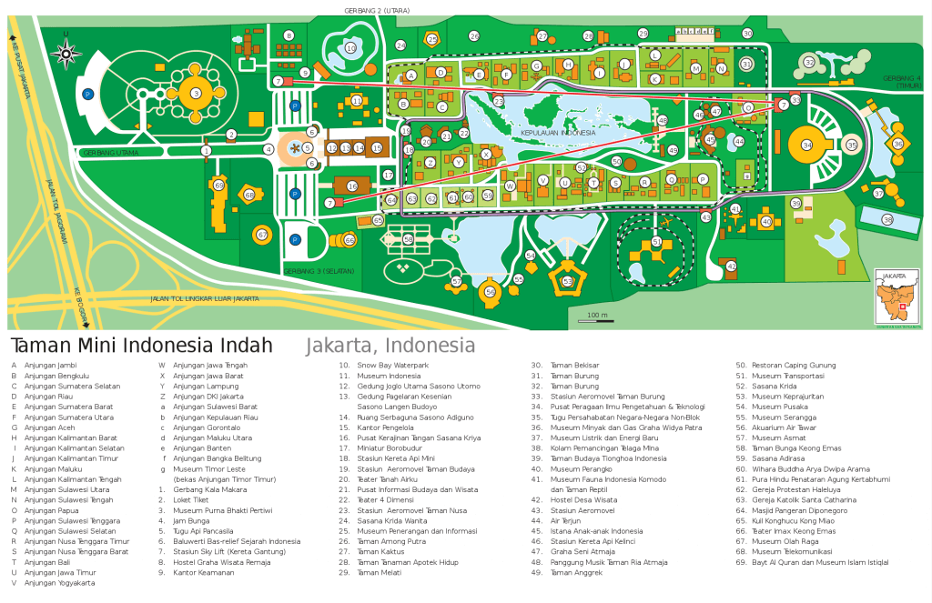 Directory Map TMII