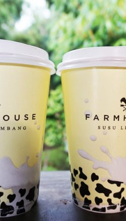 Two Cup of Susu Lembang Farmhouse