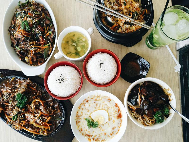 Icip-icip Makanan Korea di Hanbingo Desert Cafe Jogja
