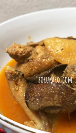 Gulai Ayam Kampung Khas Batak homemade @borukaro