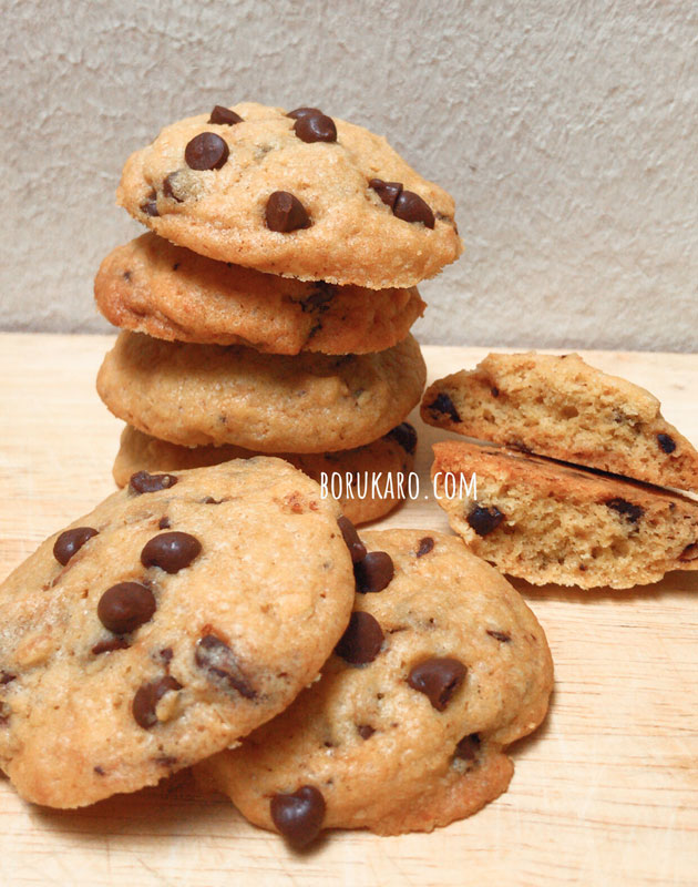Resep Kue Kering Coklat Chip Cookies Renyah
