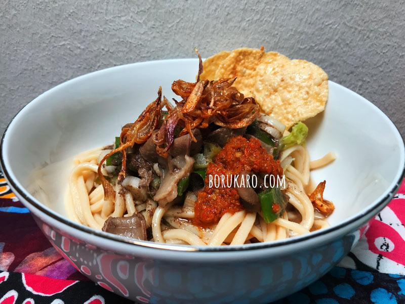 Resep Mie Gomak Kuah Daging B2